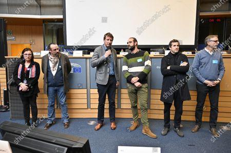 Editorial image of 'Au Nom De La Terre' film screening, Brussels, Belgium - 29 Jan 2020