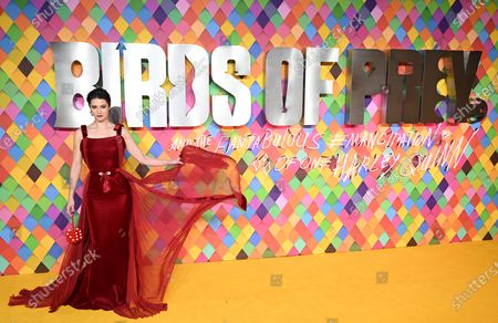 US actress and cast-member Mary Elizabeth Winstead during the world premiere of the film 'Birds of Prey (and the Fantabulous Emancipation of One Harley Quinn)' in London, Britain, 29 January 2020. The movie will be released in the UK on 07 February 2020.