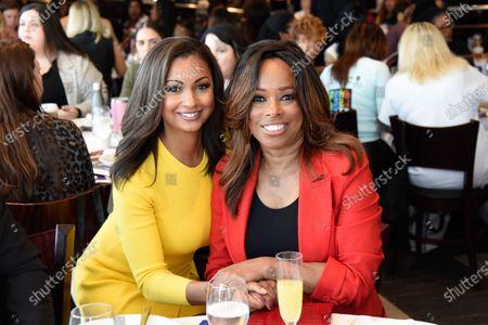 Eboni K. Williams and Pam Oliver