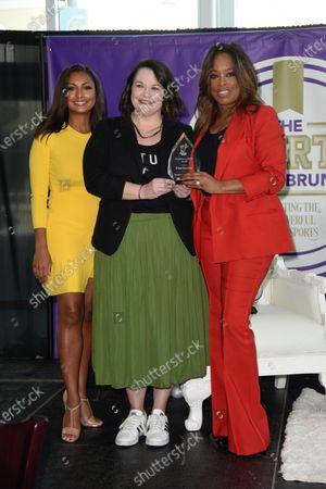 Stock Photo of Eboni K. Williams, Jennifer Alvarez and Pam Oliver