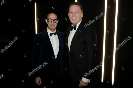 Stock Photo of Stanley Tucci and Andrew Maag