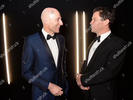 Mark Strong and Dominic West