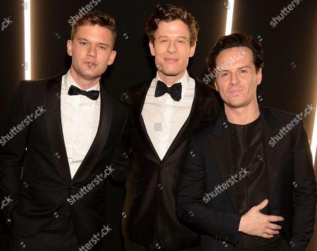 Jeremy Irvine, James Norton and Andrew Scott