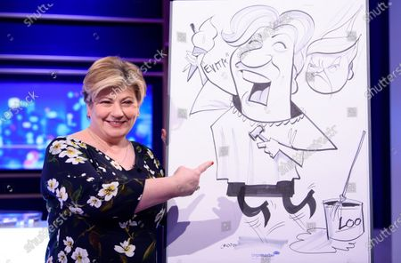 Emily Thornberry and her Caricature