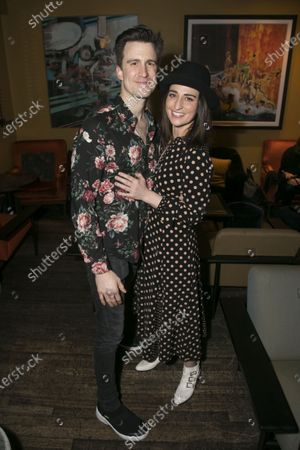 Gavin Creel (Dr Pomatter) and Sara Bareilles (Jenna/Music/Lyrics)