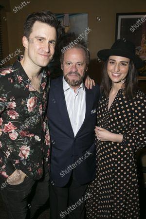 Gavin Creel (Dr Pomatter), Barry Weissler (Producer) and Sara Bareilles (Jenna/Music/Lyrics)