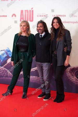 Antonio Carmona, Mariola Orellana and guest