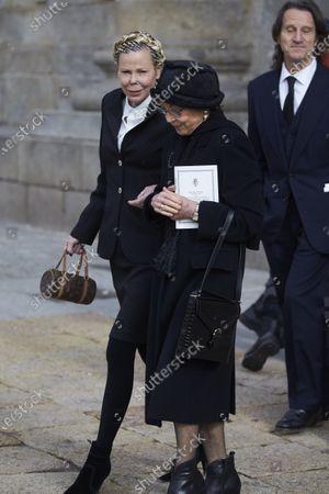 Stock Photo of Princess Kalina of Bulgaria and Margarita Gomez Acebo