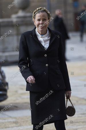 Editorial picture of Princess Pilar de Borbon funeral, San Lorenzo, Spain - 29 Jan 2020