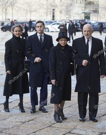 Carla Royo Vila Nova, Margarita Gomez Acebo and Kubrat, Prince of Panagyurishte