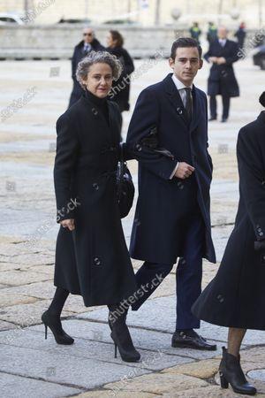 Carla Royo Vilanova, Margarita Gomez Acebo and Kubrat, Prince of Panagyurishte