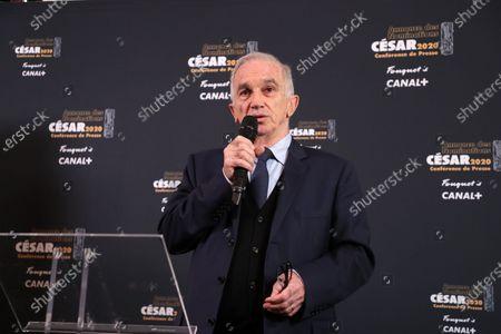 The César President Alain Terzian