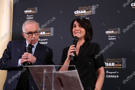 Editorial photo of 45th César Awards nominees announcement, Fouquet's, Paris, France - 29 Jan 2020