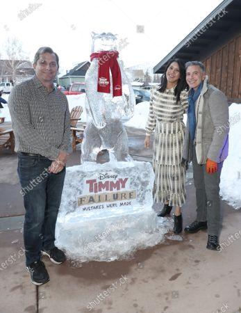 Disney+ EVP Sam Dickerman, Disney+ Senior VP Agnus Chu and Disney+ President of Content & Marketing Ricky Strauss