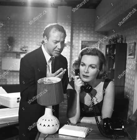 Stock Photo of 'The Saint' TV - 1962 - The Man Who Was Lucky - Delphi Lawrence