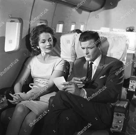 'The Saint' TV - 1962 - The Covetous Headsman - Barbara Shelley, Roger Moore.
