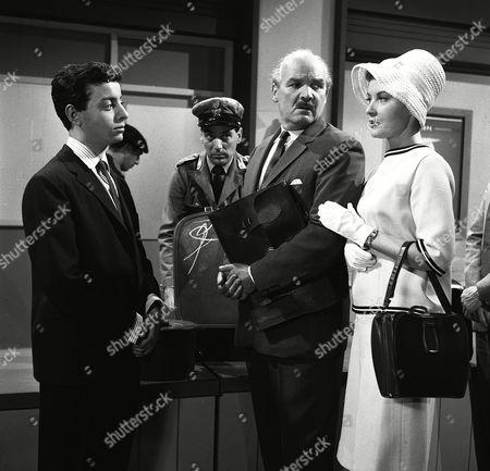 'The Saint' TV - 1962 - The Loaded Tourist - Joseph Cuby, Edward Evans, Barbara Bates.