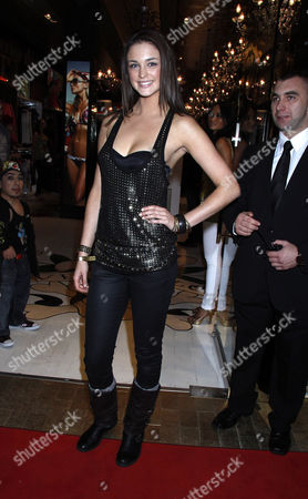Editorial image of Ed Hardy store launch, Westfield shopping centre, London, Britain - 01 Dec 2009