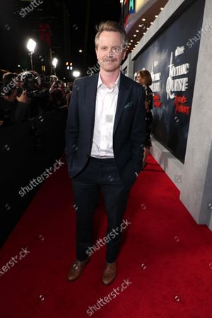 """David Hornsby, Executive Producer, at the Apple TV+ """"Mythic Quest: Raven's Banquet"""" Premiere at the Cinerama Dome."""