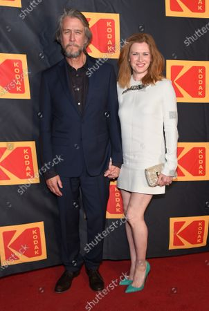 Stock Image of Alan Ruck and Mireille Enos