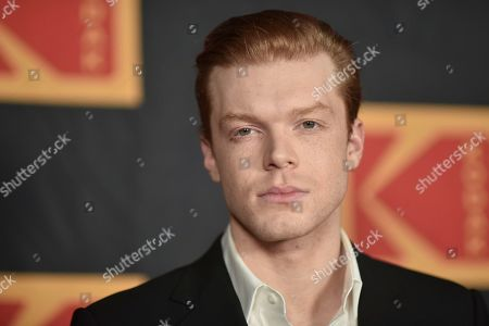 Cameron Monaghan attends the 4th Annual Kodak Film Awards at the American Society of Cinematographers clubhouse, in Los Angeles