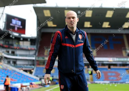 Stock Image of Arsenal assistant manager Freddie Ljungberg ahead of the game