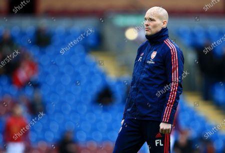 Arsenal assistant manager Freddie Ljungberg