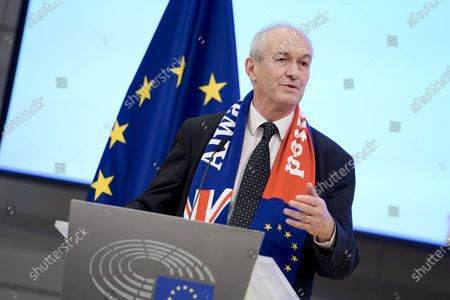 Stock Photo of Richard Corbett - Farewell ceremony for departing British MEPs