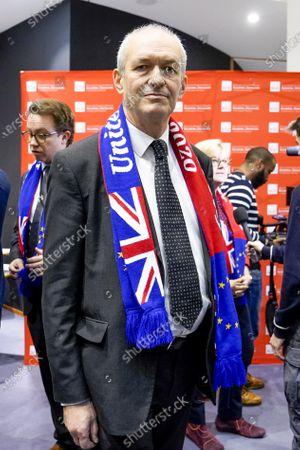 Richard Corbett. S&D event for British MEPs 'It's not goodbye it's au revoir'