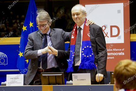 Editorial picture of European Parliament, Brussels, Belgium - 29 Jan 2020