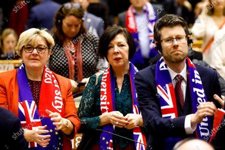 Editorial photo of European Parliament, Brussels, Belgium - 29 Jan 2020