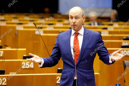 Daniel Hannan during European Parliament Plenary session - Withdrawal Agreement of the United Kingdom of Great Britain and Northern Ireland from the European Union and the European Atomic Energy Community