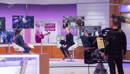 Ben Shephard and Susanna Reid with Gary Kemp