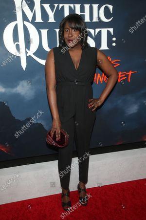 Editorial picture of 'Mythic Quest: Raven's Banquet' TV show premiere, Arrivals, Los Angeles, USA - 29 Jan 2020