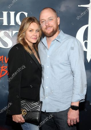Stock Image of Andrea Roth and Todd Biermann