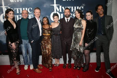 Caitlin McGee, F. Murray Abraham, David Hornsby, Executive Producer, Imani Hakim, Ashly Burch, Rob McElhenney, Writer/Executive Producer, Charlotte Nicdao, Jessie Ennis and Danny Pudi