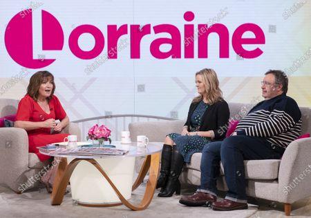 Lorraine Kelly, Jo Joyner and Mark Benton
