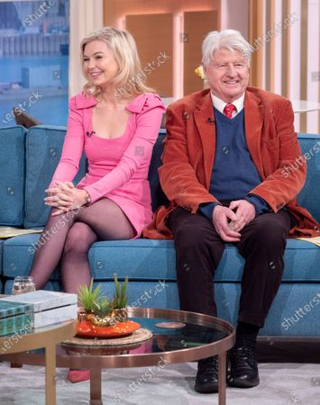 Georgia Toffolo and Stanley Johnson