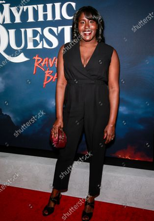 Editorial image of 'Mythic Quest: Raven's Banquet' TV show premiere, Arrivals, Los Angeles, USA - 29 Jan 2020