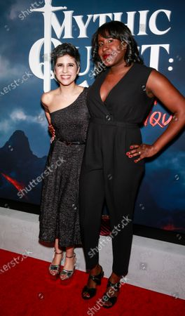 Editorial photo of 'Mythic Quest: Raven's Banquet' TV show premiere, Arrivals, Los Angeles, USA - 29 Jan 2020