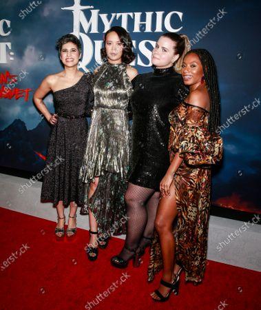 Ashly Burch, Charlotte Nicdao, Jessie Ennis and Imani Hakim