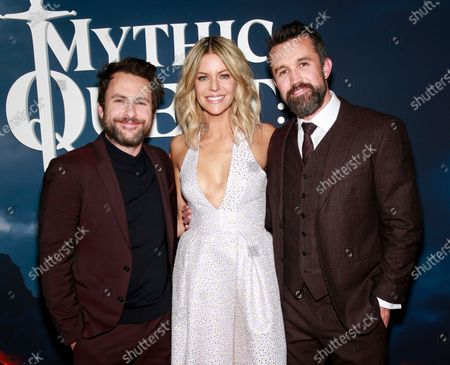 Charlie Day, Kaitlin Olson and Rob McElhenney