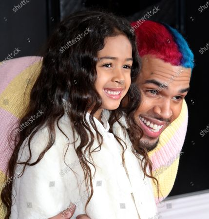 Chris Brown with Royalty Brown
