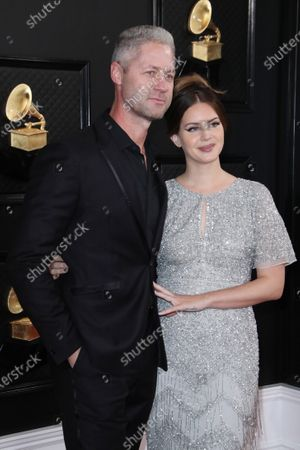 Sean Larkin and Lana Del Rey