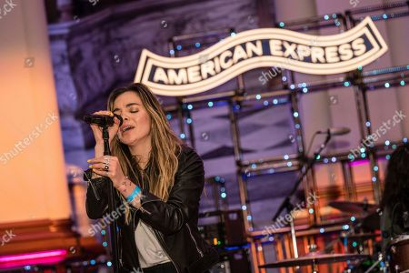 Editorial image of American Express Pop-Up Event, San Francisco, USA - 29 Jan 2020