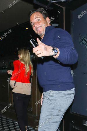 Will Arnett at Craig's Restaurant