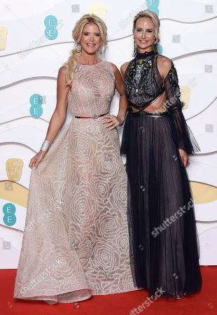 Victoria Silvstedt and Lady Victoria Hervey