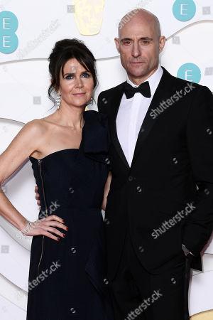 Stock Photo of Liza Marshall and Mark Strong