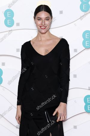 Editorial image of 73rd British Academy Film Awards, Arrivals, Royal Albert Hall, London, UK - 02 Feb 2020