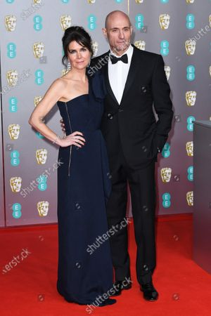 Liza Marshall and Mark Strong